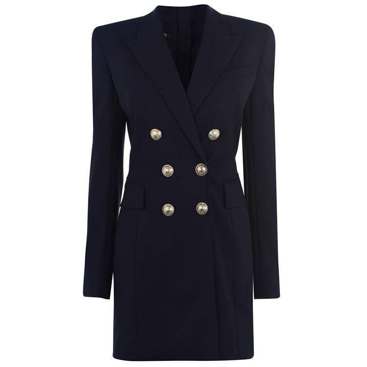 Jacket Button Dress