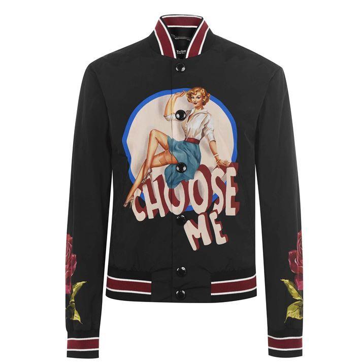 Choose Me Bomber Jacket