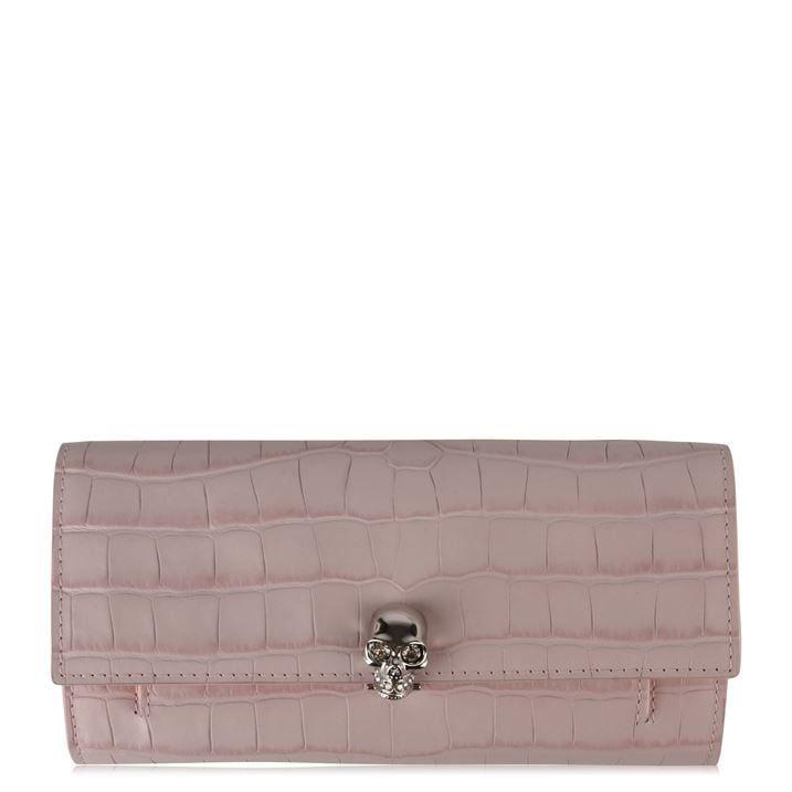 Crocodile Effect Wallet Bag