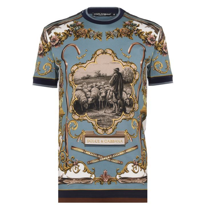Shepherd Print T Shirt