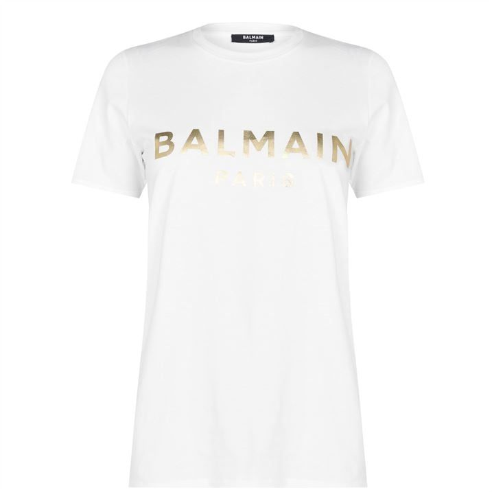 Paris Metallic T Shirt