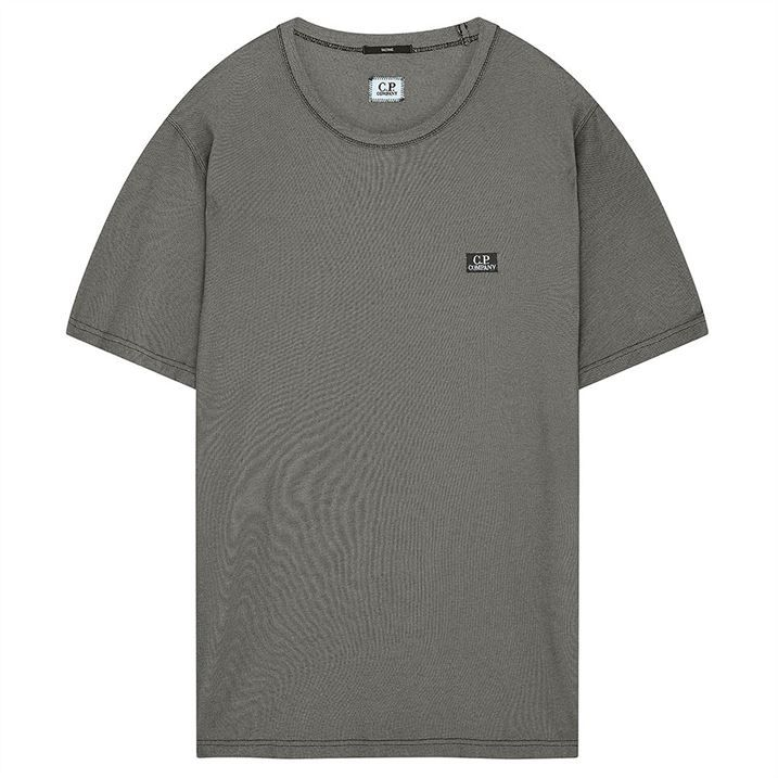 Badge Pique T Shirt