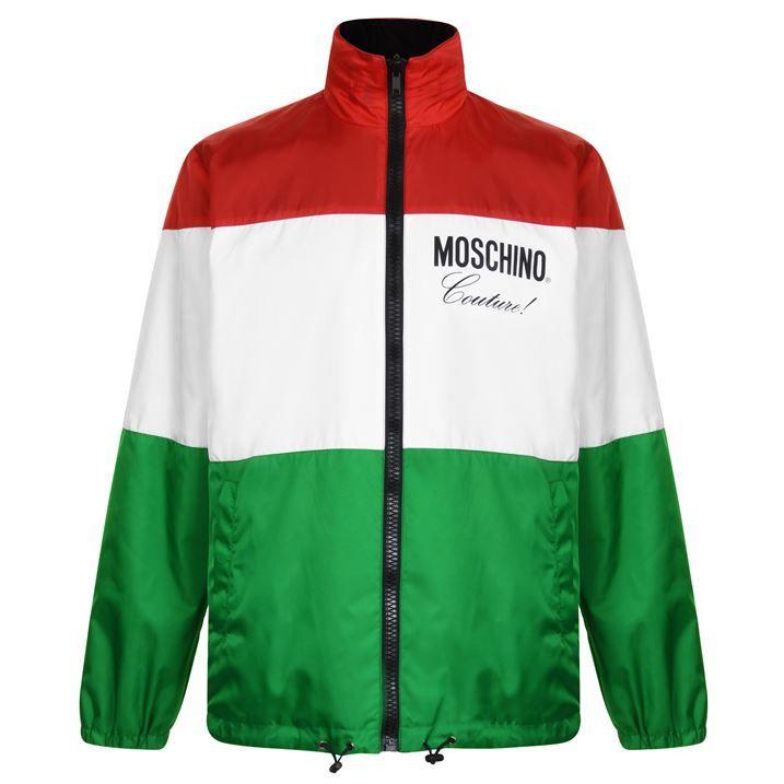 Reversible Italian Logo Jacket
