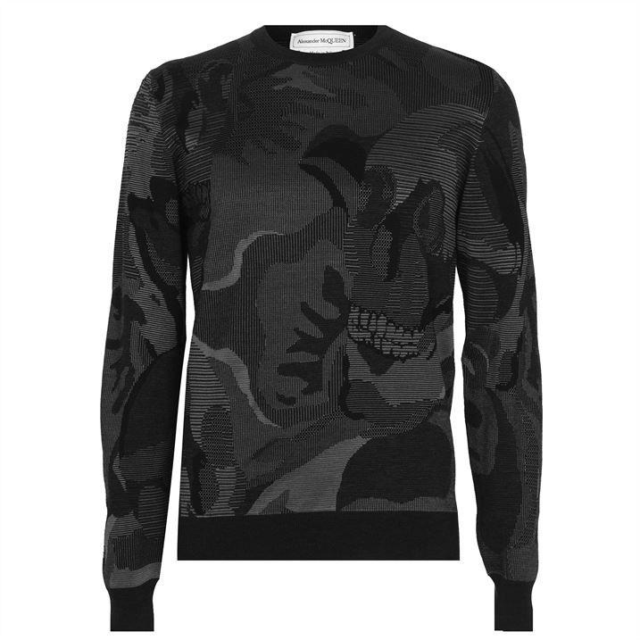 Skull Camouflage Sweatshirt