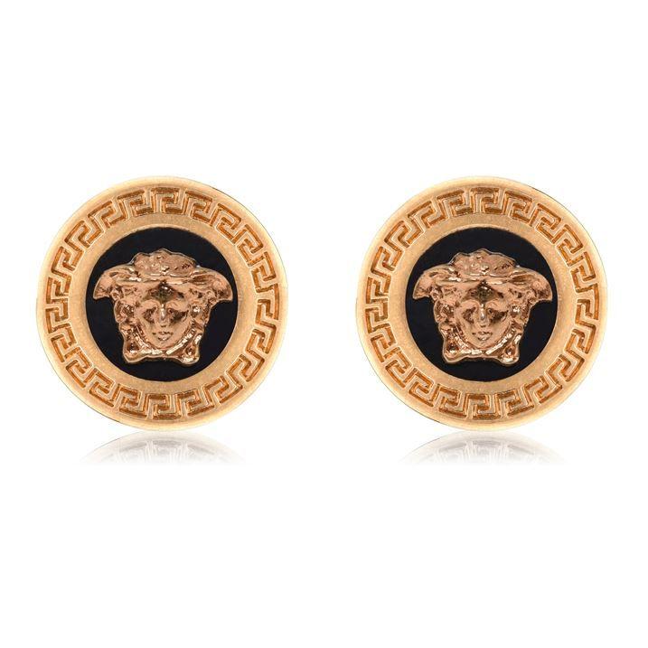 Round Logo Earrings