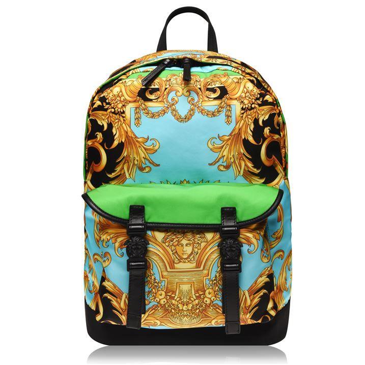 Versace Barroco Nylon Backpack