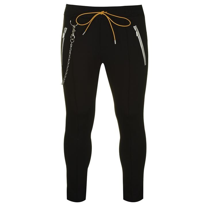 Traxedo Trousers With Chain