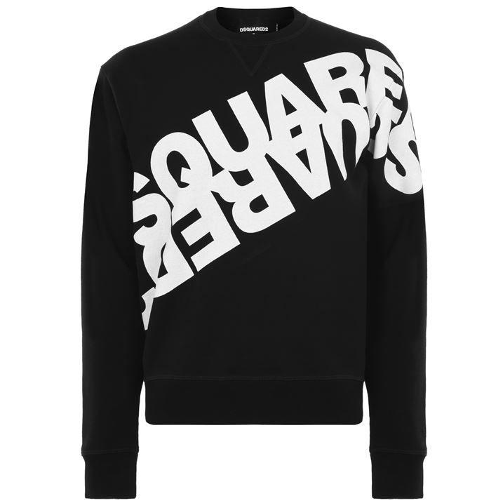 Diagonal Logo Sweatshirt