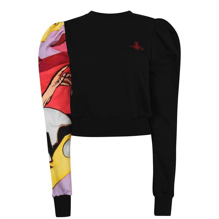 Aramis Puff Print Sweatshirt