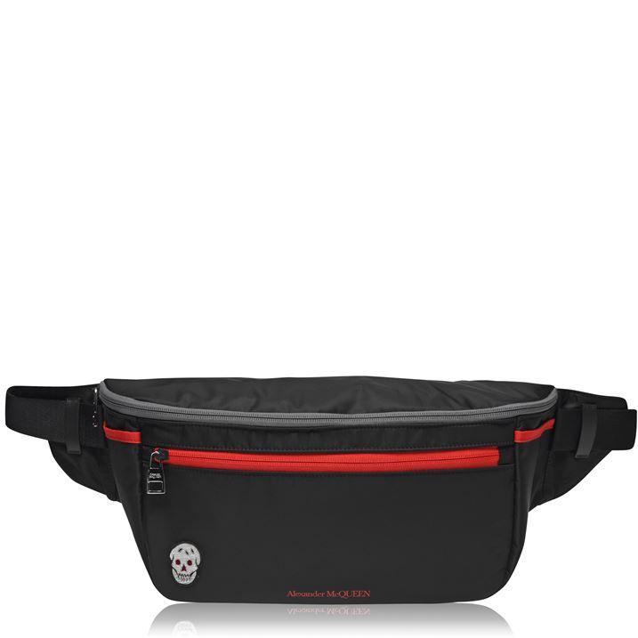 Oversize Double Zip Bum Bag