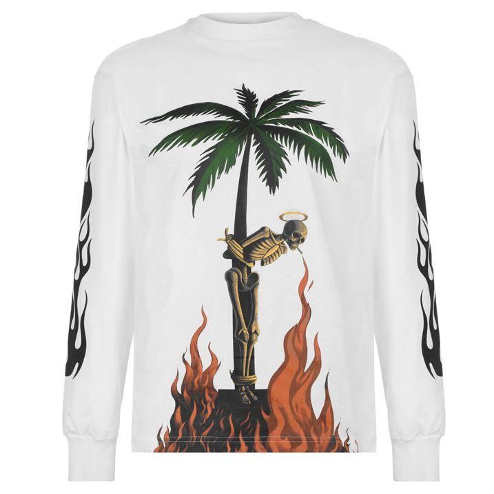 Skeleton Long Sleeved T Shirt