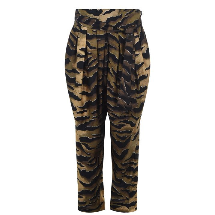 Tiger Striped Trousers