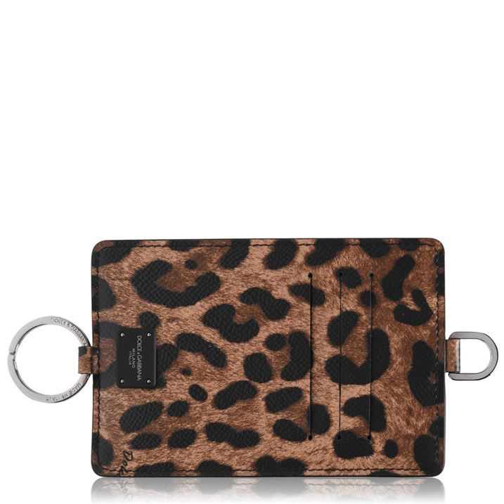 Leopard Card Necklace