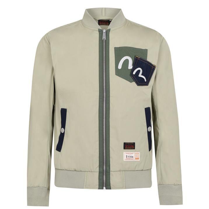 Daicock Print Bomber Jacket