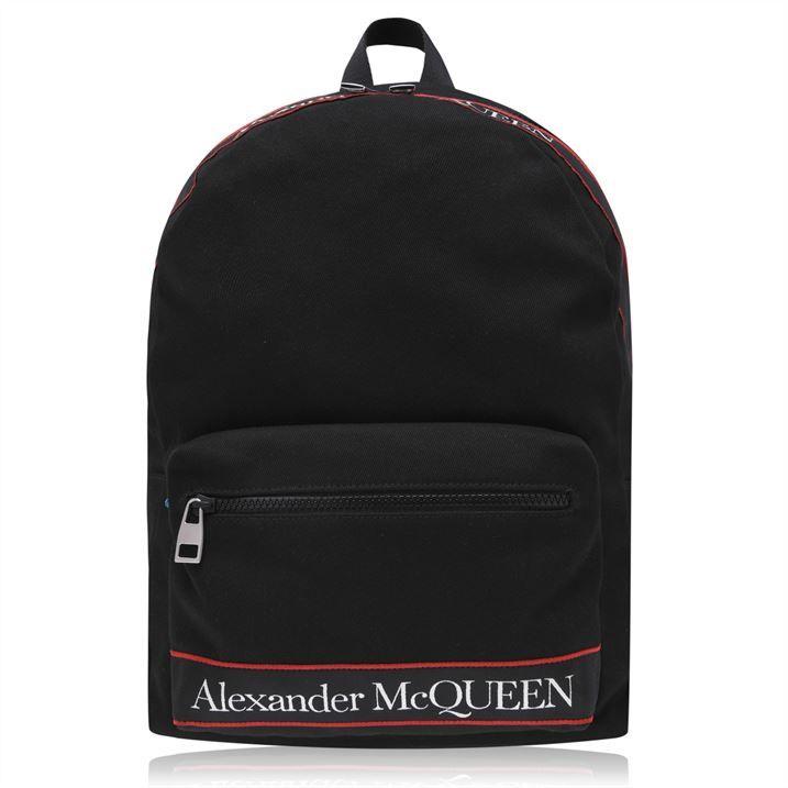 Alexander Mcqueen Logo Backpack
