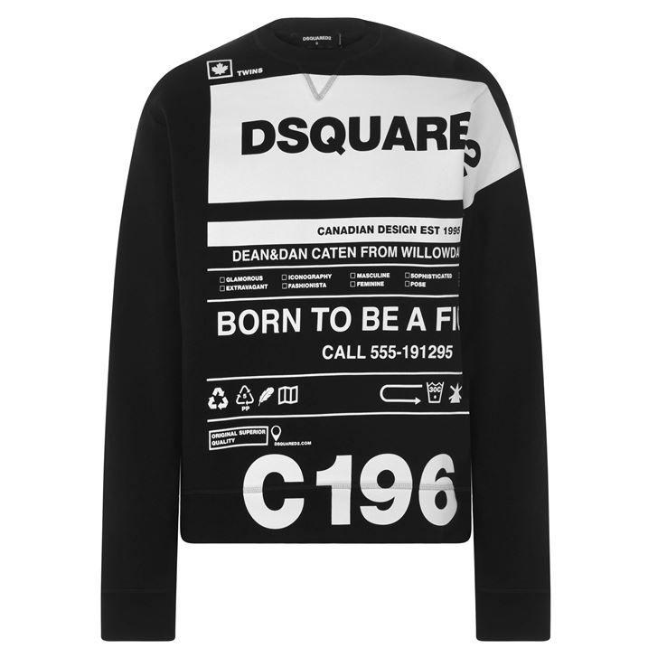 Care Label Sweatshirt
