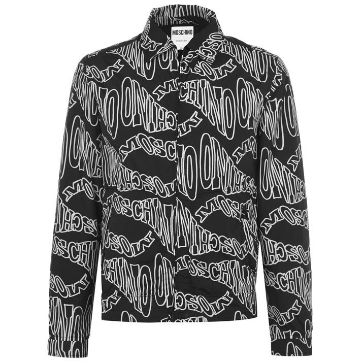 Moschino Wave Coach Rain Jacket