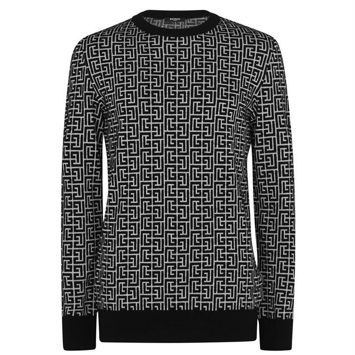 Monogram Pullover Sweater
