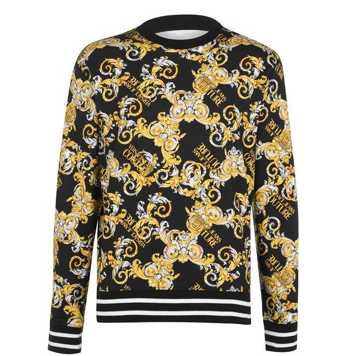 All Over Baroque Sweatshirt