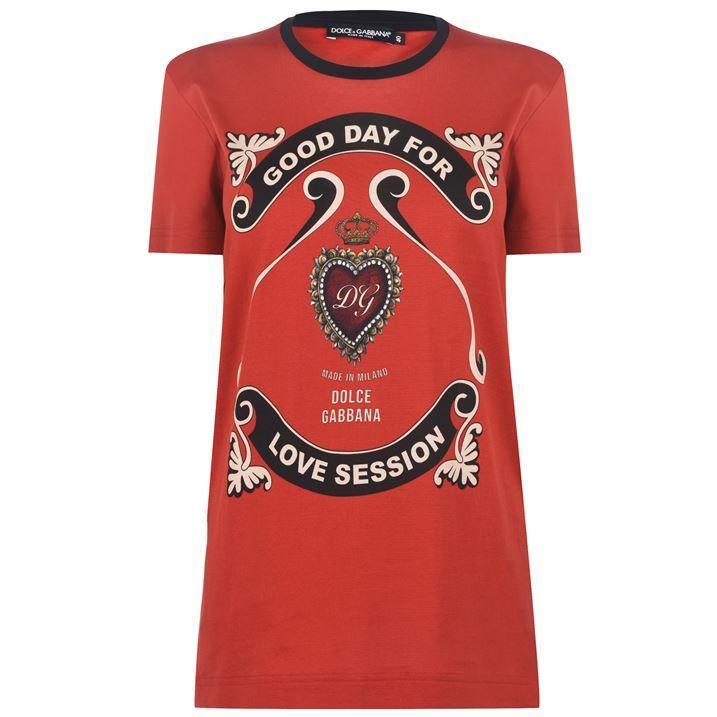Heart Logo T Shirt