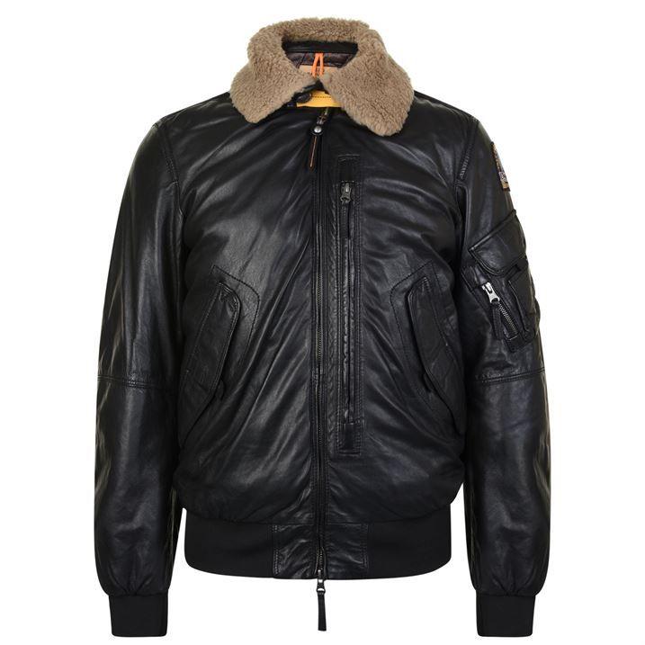 Josh Leather Bomber Jacket