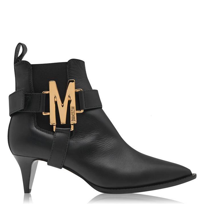 M Logo Boots