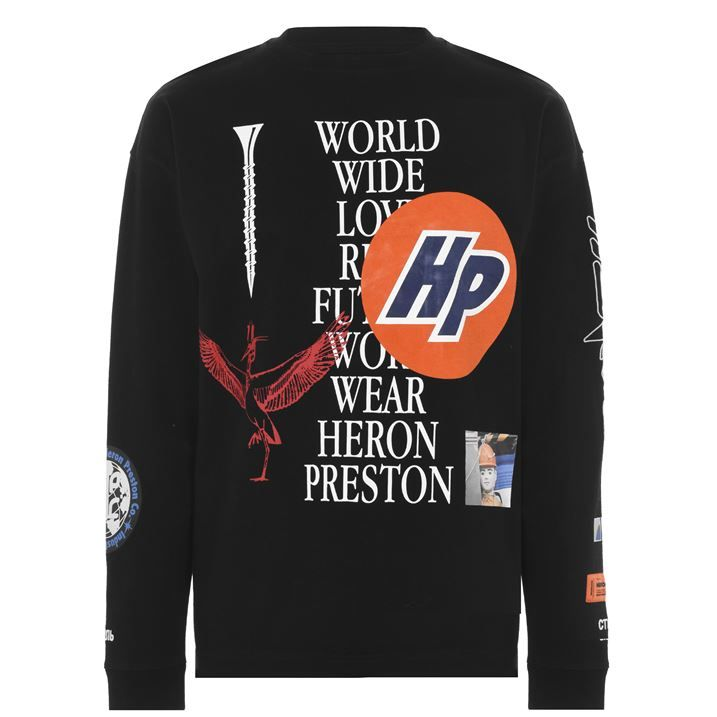 Collage Long Sleeve T Shirt