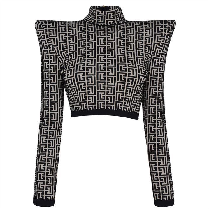 Mono Crop Sweater
