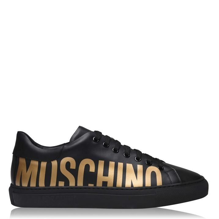 Logo Low Top Trainers
