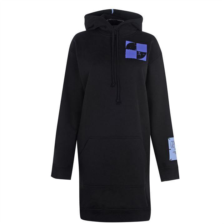 McQ Rave Hood Dress Ld04