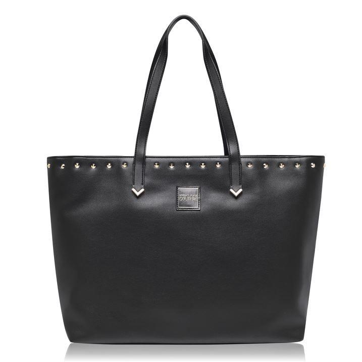 Stud Logo Shopper Bag