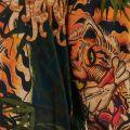 Tiger Flower Short Sleeve Shirt