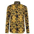 All Over Baroque Print Shirt