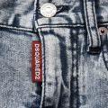 Acid High Waisted Hot Denim Shorts