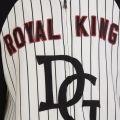 Children Boys King Baseball Jacket