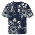Greyscae Print T Shirt