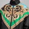 Baroque Funnel Neck Jacket